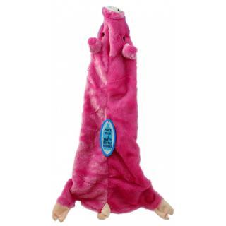 Hračka dog fantasy skinneeez návlek na láhev prase 60cm