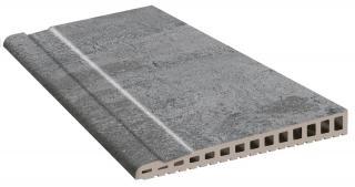 Hrana Přelivová Exagres Opera iron 28x66,5 cm mat OPERABD66IR šedá iron