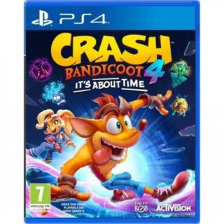 Hry na Playstation crash bandicoot 4: it´s about time