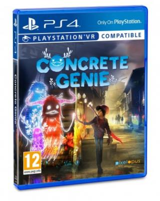 Hry na Playstation sony ps4 hra concrete genie