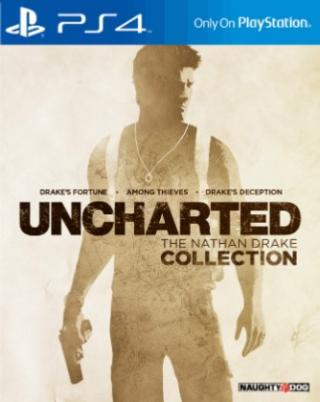 Hry na Playstation sony ps4 hra uncharted collection/eas