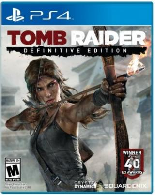 Hry na Playstation tomb raider: definitive edition