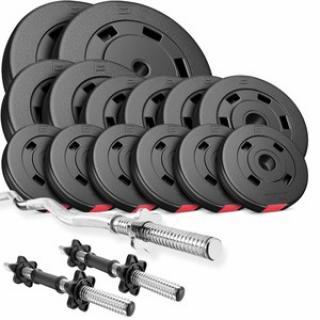 HS Nakládací činkový set Premium 56kg