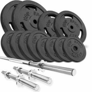 HS Nakládací činkový set Strong 59kg