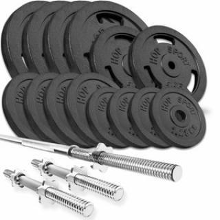 HS Nakládací činkový set Strong 79kg