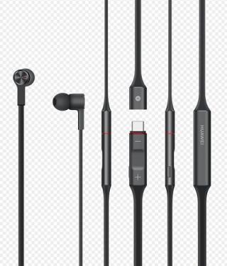 Huawei Original bezdrátová sluchátka FreeLace Stereo BT Headset CM-70C, Black