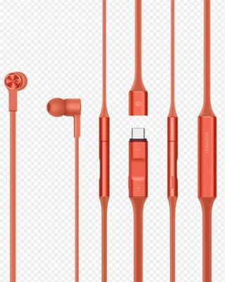 Huawei Original bezdrátová sluchátka FreeLace Stereo BT Headset CM-70C, Orange