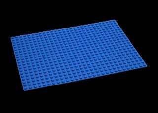 HUBELINO Podložka na stavění 560 - modrá