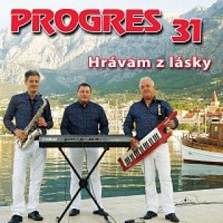 hudobná skupina Progres – 31. Hrávam z lásky CD