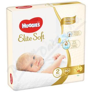 HUGGIES Elite Soft 2 4-6kg 80ks