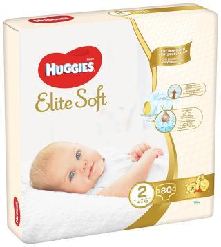 HUGGIES Elite Soft 2  - jednorázové pleny