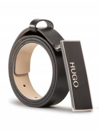 Hugo Dámský pásek Karol Belt 2,5 Cm 50435077 Černá 85