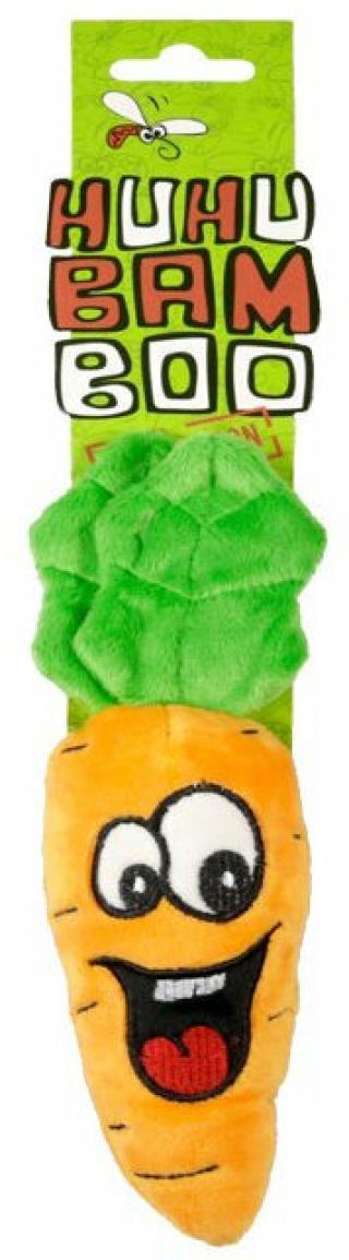 Huhubamboo Carrot Hračka pro psy 15 cm