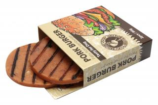 Huhubamboo Hamburger veprovy 90g