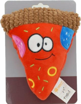 Huhubamboo Pizza Hračka pro psy 16,5 cm