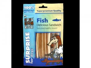 Huhubamboo rybi sandwich delicious 250g