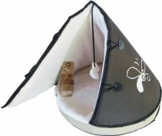 Huhubamboo Teepee Pelíšek pro kočky