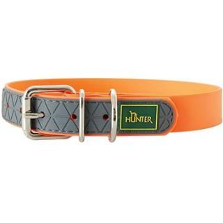 Hunter obojek Convenience, oranžový 33 - 41 cm