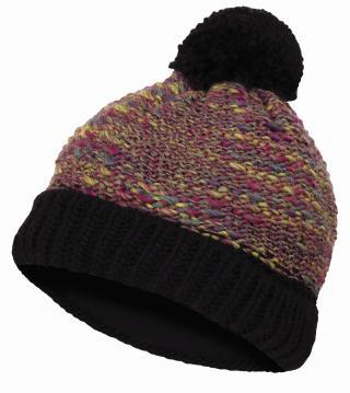 Husky  Cap 8 S-M, fialová/černá Dámská čepice S-M