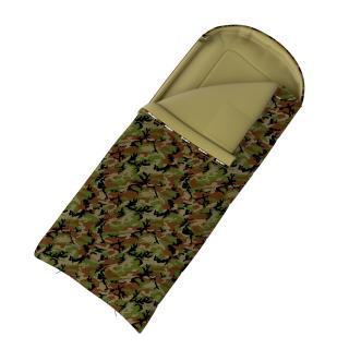 Husky  Gizmo Army -5°C khaki Spacák dekový
