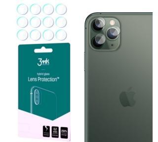 Hybridní sklo 3mk Lens ochrana kamery pro Apple iPhone 11 Pro Max, 4ks