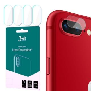 Hybridní sklo 3mk Lens ochrana kamery pro Apple iPhone 7 Plus/8 Plus, 4ks
