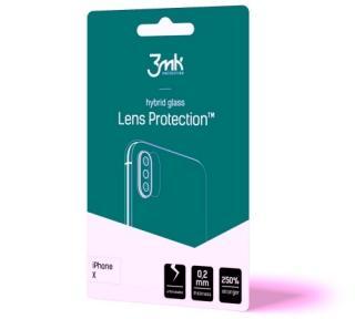 Hybridní sklo 3mk Lens ochrana kamery pro Huawei P20 Pro, 4ks