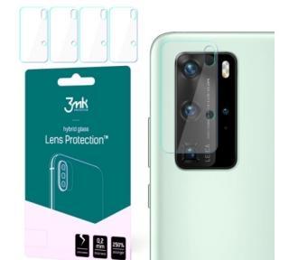 Hybridní sklo 3mk Lens ochrana kamery pro Huawei P40 Pro,