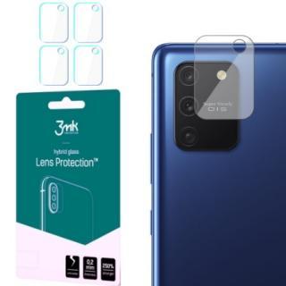 Hybridní sklo 3mk Lens ochrana kamery pro Samsung Galaxy S10 Lite, 4ks