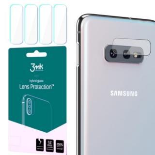 Hybridní sklo 3mk Lens ochrana kamery pro Samsung Galaxy S10e, 4ks