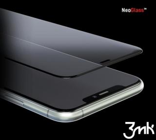 Hybridní sklo 3mk NeoGlass pro Apple iPhone 7 Plus, 8 Plus, bílá