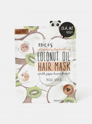 Hydratační maska na vlasy s kokosovým olejem TALLY WEiJL - ONE SIZE bílá ONE SIZE