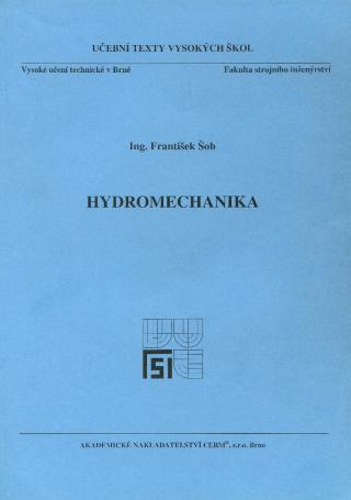 Hydromechanika - Šob František