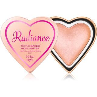 I Heart Revolution Glow Hearts zapečený rozjasňovač odstín Radiance 10 g dámské 10 g