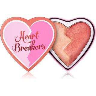 I Heart Revolution Heartbreakers rozjasňující tvářenka odstín Strong 10 g dámské 10 g