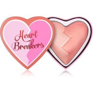 I Heart Revolution Heartbreakers tvářenka s matným efektem odstín Brave 10 g dámské 10 g