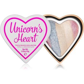 I Heart Revolution Unicorns Heart zapečený rozjasňovač odstín Unicorn's Hear 10 g dámské 10 g