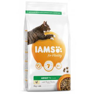 Iams adult cat chicken 2kg