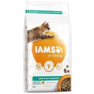 IAMS Cat Adult Weight Control/Sterilized Chicken 2 kg