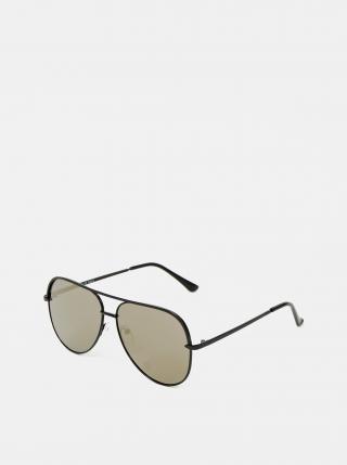 Ichi černé metalické sluneční brýle Iacansa dámské černá