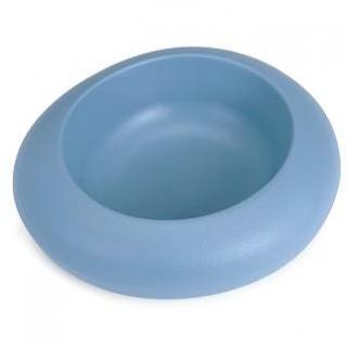 IMAC Designová miska pro psa plastová 1000 ml - modrá - D 27,5 × Š 23,5 × V 7,5 cm