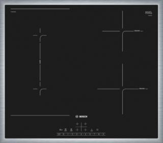 Indukční deska indukční varná deska bosch,60cm,4zóny z toho 1combizone,7,4kw