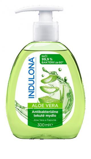 Indulona Antibakteriální tekuté mýdlo Aloe Vera 300 ml