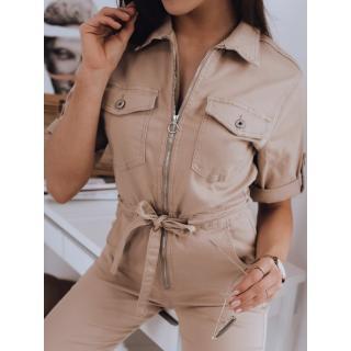 INESS overalls beige Dstreet EY1655 dámské Neurčeno M