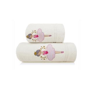 Inny Baby towel 50x90 A338 Ecru One size