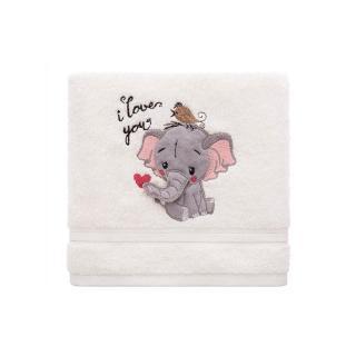 Inny Baby towel 70x140 A334 Ecru One size