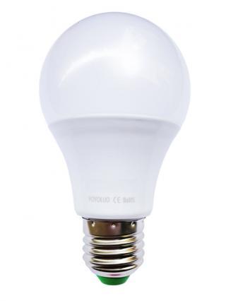 Inteligentní LED žárovka E27 DC 12V Barva: teplá bílá, Příkon: 3W