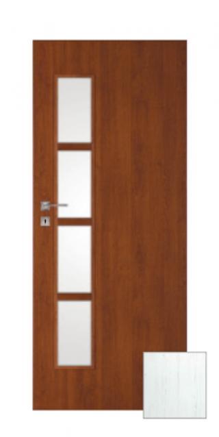 Interiérové dveře Naturel Deca levé 60 cm borovice bílá DECA30BB60L dřevodekor