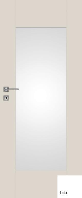 Interiérové dveře Naturel Evan pravé 70 cm bílé EVAN370P bílá bílé