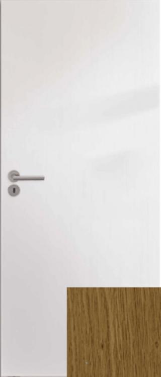Interiérové dveře Naturel Ibiza pravé 70 cm bílé IBIZAB70P